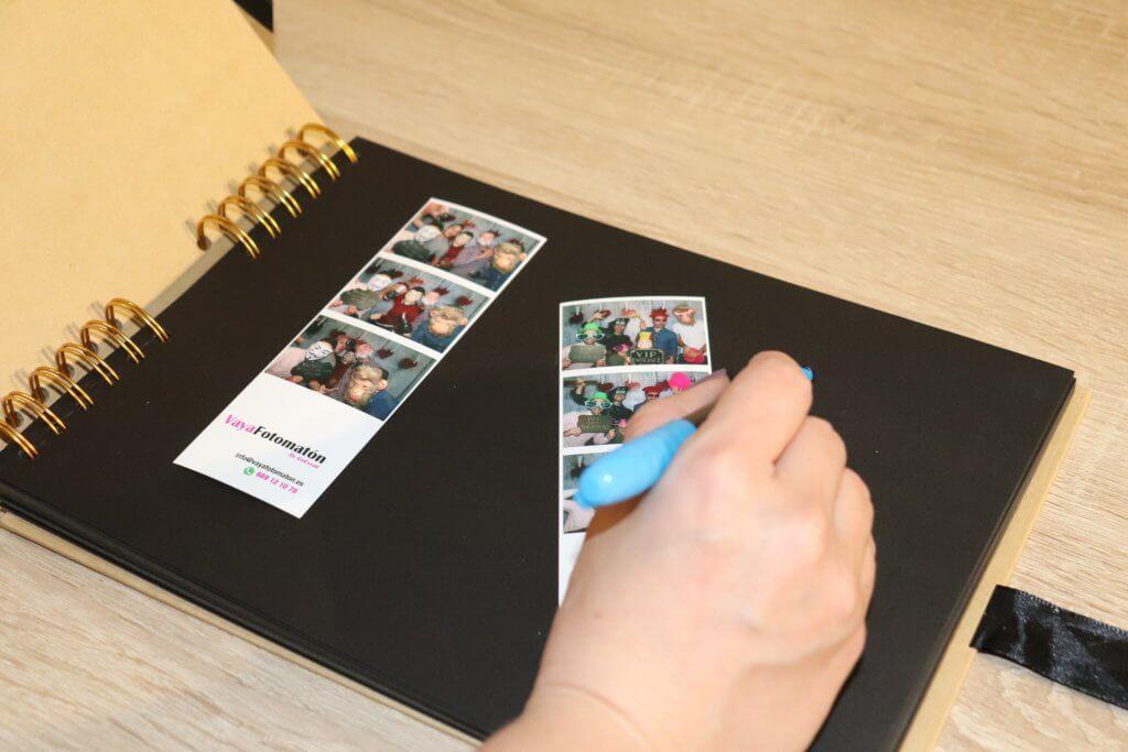 libro de firmas fotomaton